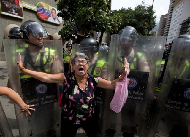 Manifestación de oposición/Crédito: AP