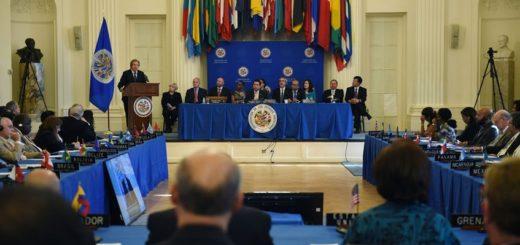 Organización de Estados Americanos en sesión | Foto referencial