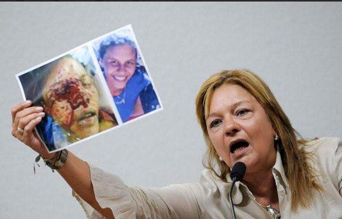 Rosa Orozco, madre de Geraldine Moreno/Crédito: La Patilla