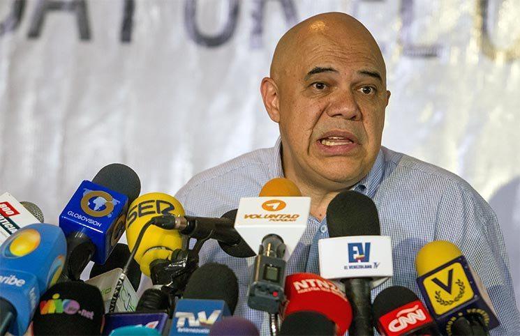 "Jesús ""Chúo"" Torrealba, secretario Ejecutivo de la MUD| Foto: Archivo"
