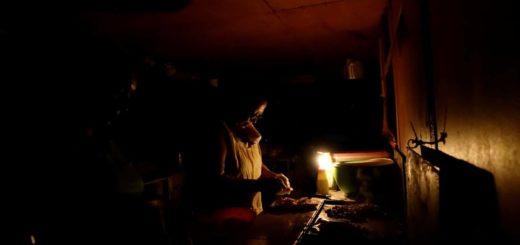 Venezuela sin luz/Reuters