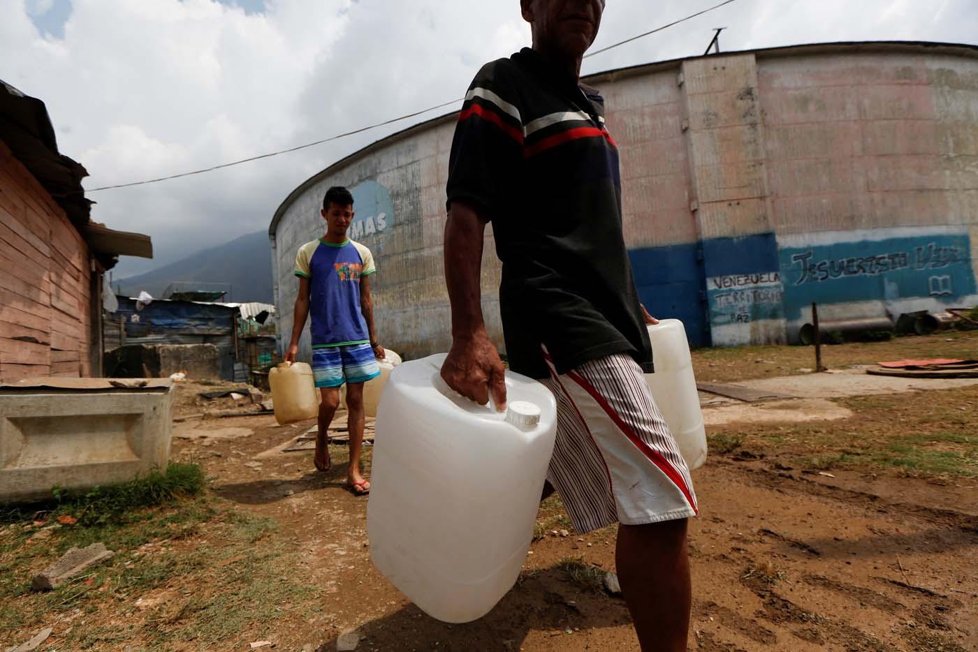 Escasez de agua en Venezuela/Reuters