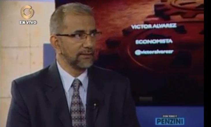 Economista Victor Álvarez|Captura de Video