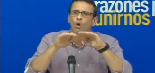 Gobernador de Miranda, Henrique Capriles   Foto: archivo