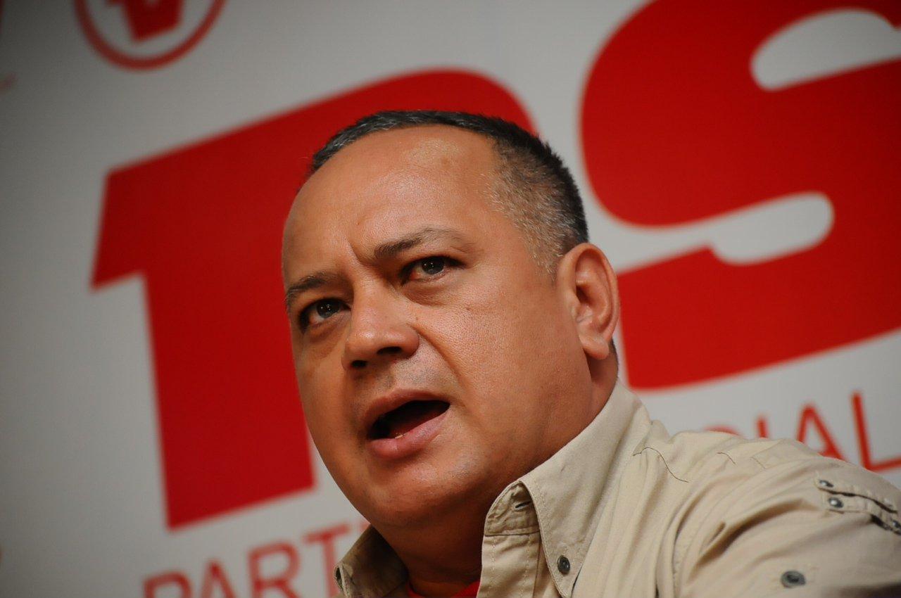 Diosdado Cabello   Foto: Archivo