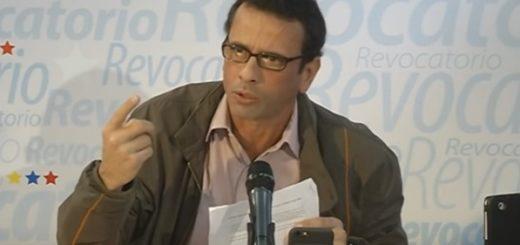 Henrique Capriles Foto: Archivo