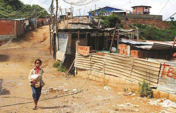 Pobreza en Venezuela/Crédito: EFE