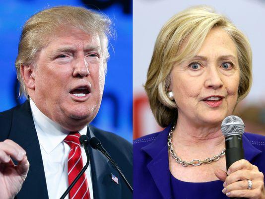 Donald Trump y Hillary Clinton  / Imagen referencial
