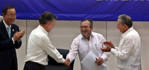 El acuerdo de Paz entre el Gobierno colombiano será firmado este jueves | Foto: Archivo