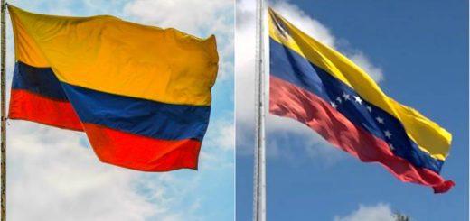 Banderas de Colombia y Venezuela | Imagen: LVE