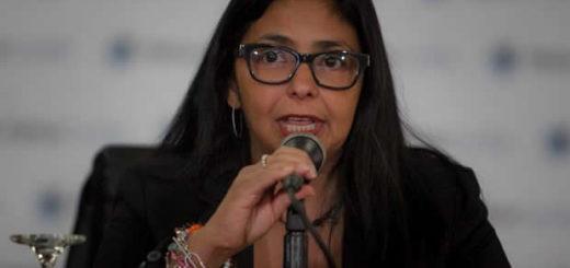 Delcy Rodríguez| Foto: Archivo