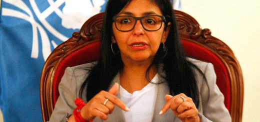 Delcy-Rodriguez-exige-amenaza-canciller