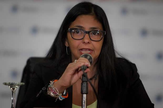 Delcy Rodríguez  Foto: Archivo