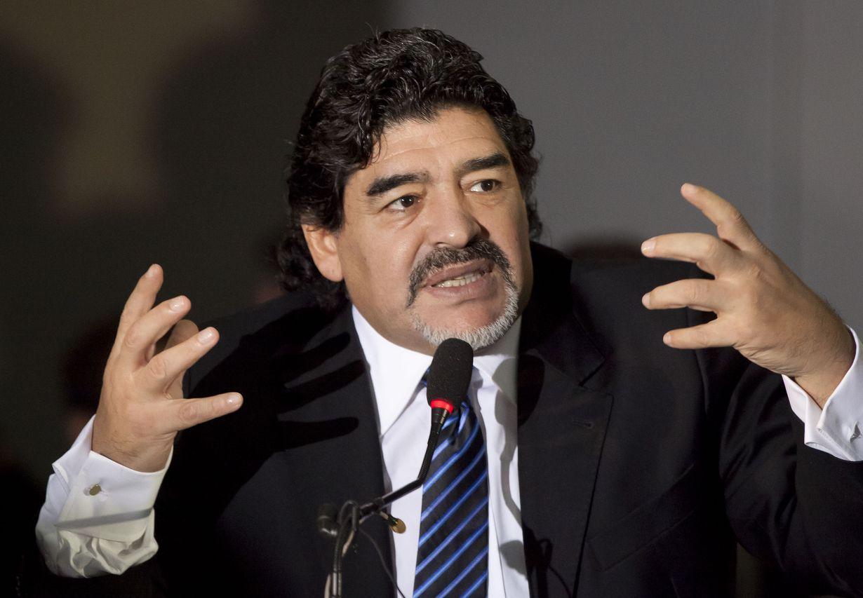 Diego Armando Maradona  Foto: Archivo