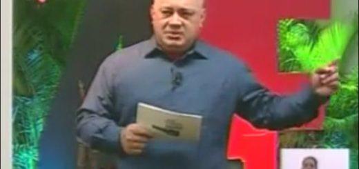 Diputado Diosdado Cabello | Foto: captura de video