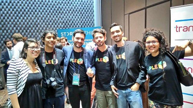 Equipo de PleiQ en Chile | Foto: Quinto Día