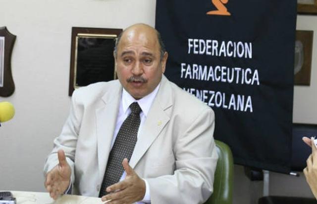 Freddy Ceballos, presidente de la Federación Farmacéutica de Venezuela (Fefarven)