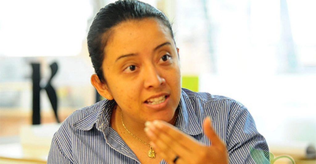 Diputada Gaby Arellano  Foto: Archivo