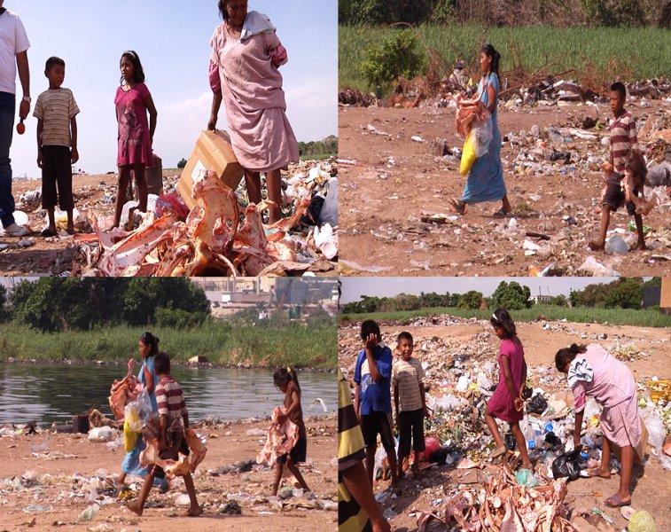 En la Guajira buscan en la basura para comer y preparan sopa con huesos putrefactos| Foto LDanieri
