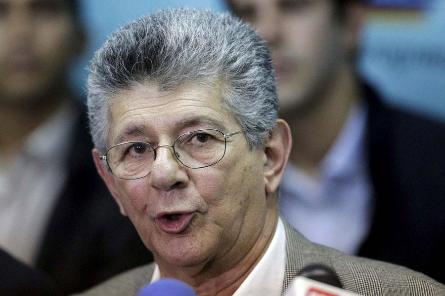 Presidente de la Asamblea Nacional Henry Ramos Allup | Foto: archivo