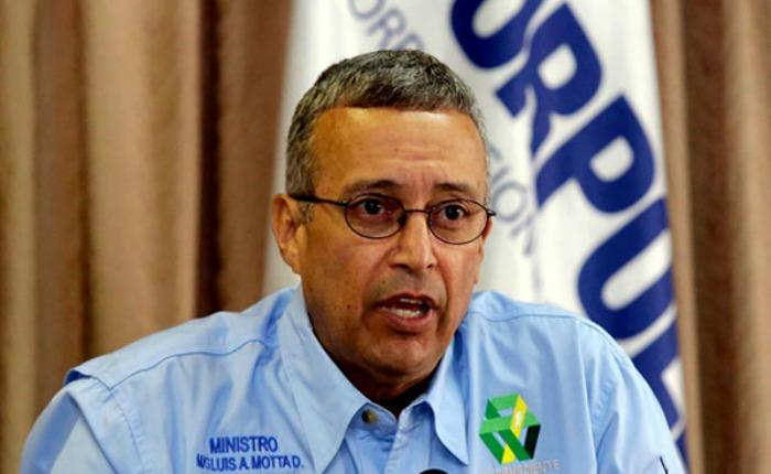 Ministro de Energía, Luis Motta Domínguez | Foto: Cortesía