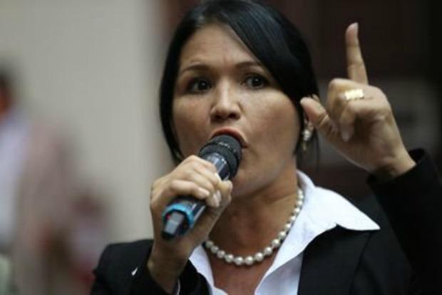 Diputada de la Asamblea Nacional, Melva Paredes / Foto: Twitter