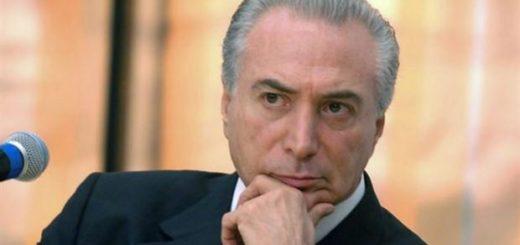 Michel Temer, presidente  de Brasil |Foto archivo