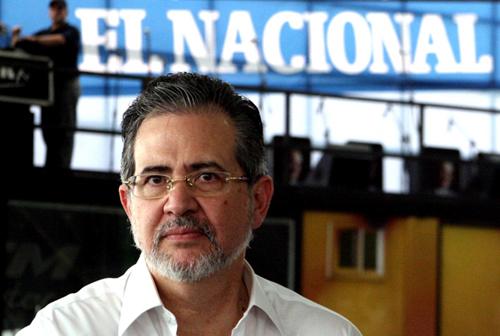 Miguel Henrique Otero, editor de El Nacional | Foto: Archivo