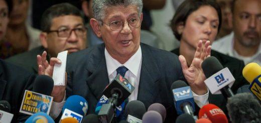 Presidente de la Asamblea Nacional Henry Ramos Allup| Foto: Cortesía