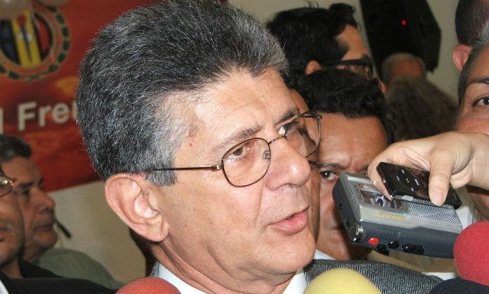 Henry Ramos Allup, presidente de la Asamblea Nacional   Imagen de referencia