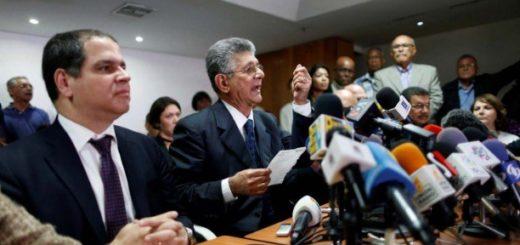Presidente de la Asamblea Henry Ramos Allup