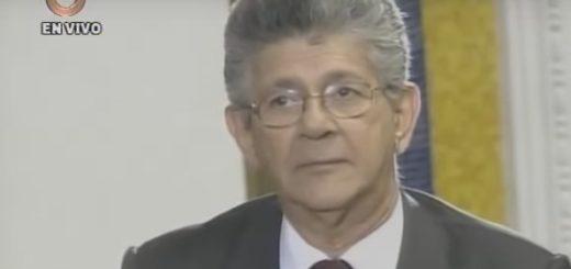 Presidente de la Asamblea Naciona Henry Ramos Allup