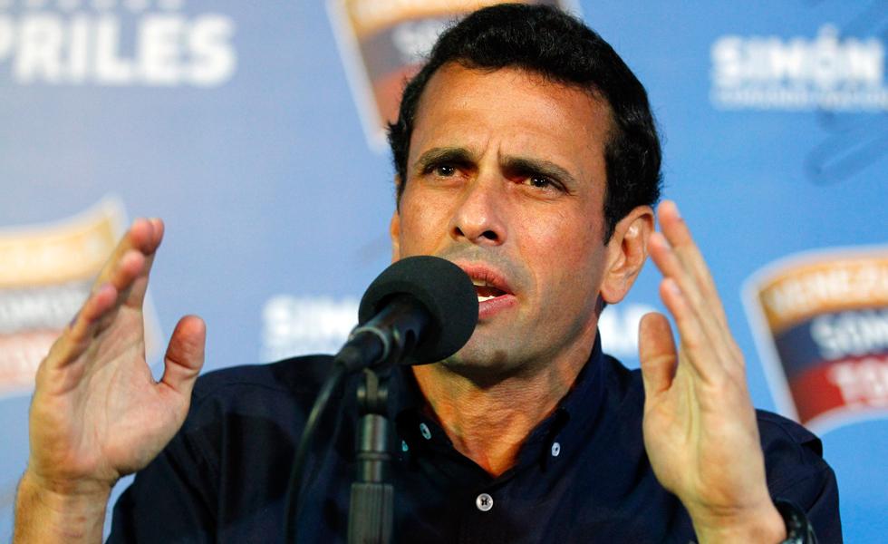 Henrique Capriles, gobernador del estado Miranda | Foto: Cortesía