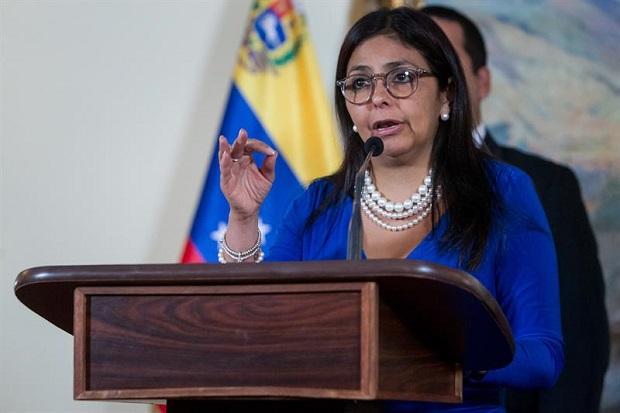 Delcy Rodríguez, Canciller de la República Bolivariana de Venezuela | Foto: Cortesía