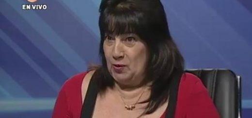 Presidenta del Consejo Legislativo de Miranda, Aurora Morales| Captura de Vídeo