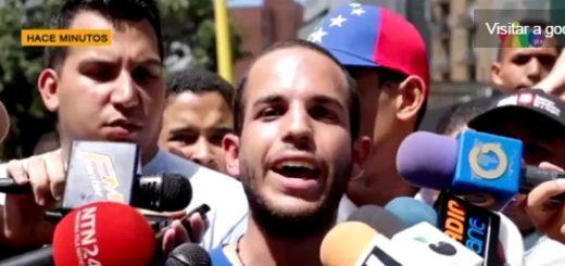 Harler Iglesias presidente del movimiento estudiantil de la UCV|Foto: archivo