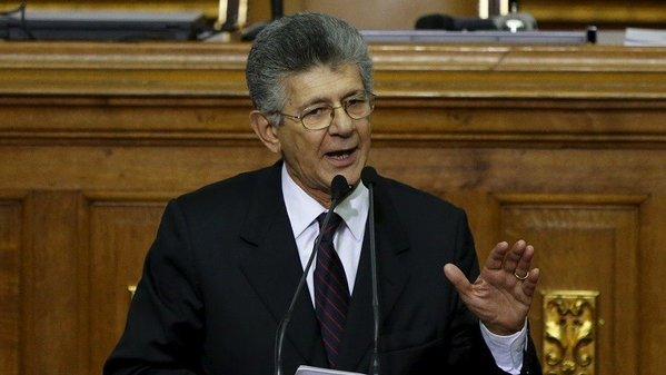 Presidente de la Asamblea Nacional Henry Ramos Allup  Foto: archivo
