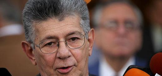 Presidente de la Asamblea Nacional Henry Ramos Allup| Foto: Agencia