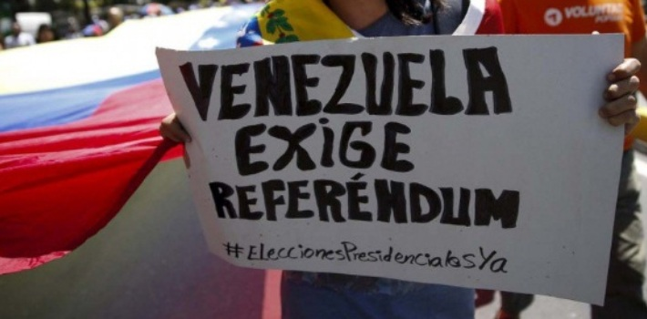 Venezuela exige referéndum | Foto: Archivo