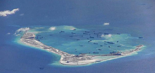 China ha construido islas rápidamente a partir de arrecifes en el mar de la China meridional | Foto: Reuters