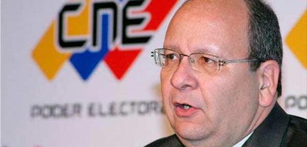 Vicente Díaz, Ex rector del CNE / Foto: Archivo