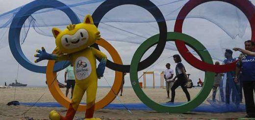 Juegos Olímpicos, Río de Janeiro 2016   Foto referencial