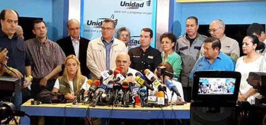 Mesa de la Unidad Democrática (MUD) / Imagen de referencia