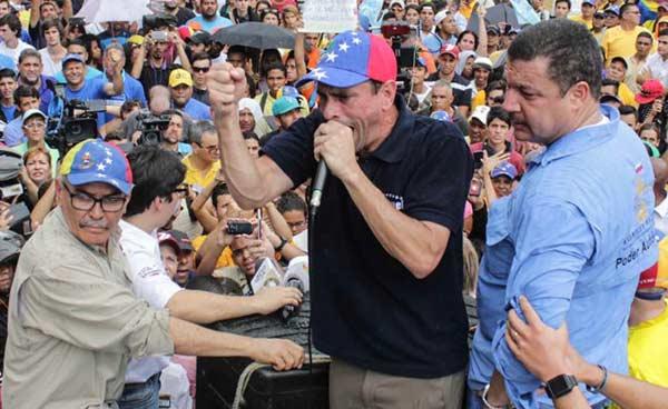 Henrique Capriles| Prensa Miranda