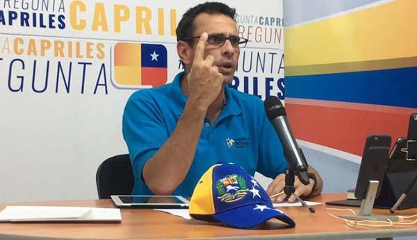 Henrique Capriles|Prensa de Miranda