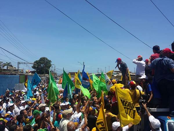 Henrique Capriles llega a Cumaná |Foto: @jovenespsucre