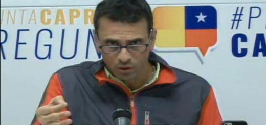 Henrique Capriles| Foto: archivo