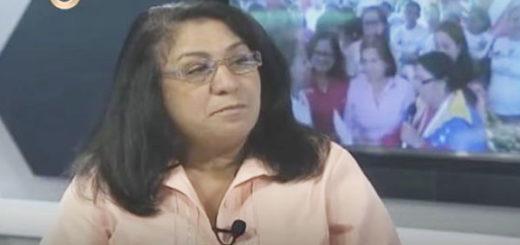 Coordinadora del Programa Soy Mujer, Zulay Aguirre | Foto: Captura de video