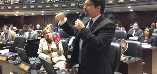 Diputado de la Asamblea Nacional (AN), Freddy Guevara / Foto: Twitter