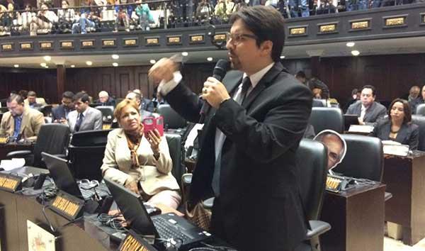 Dputado de la Asamblea Nacional (AN), Freddy Guevara / Foto: Twitter